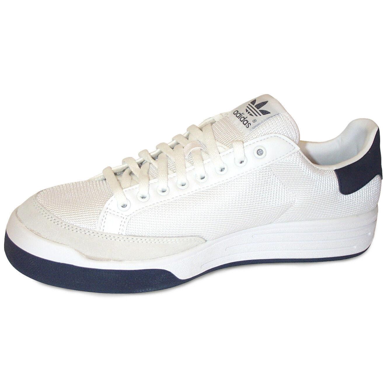 Adidas Rod Laver Super Calzado para Tenis Nuevo Blanco/Azul En Caja Para Hombre, Blanco/Azul Nuevo Marino-Varios Tamaños f83d73