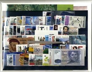 Ano-completo-sellos-de-Espana-2018-con-hojitas-bloque-Stamps-Spain