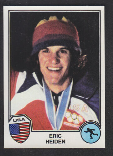 Panini Sport Superstars Euro Football 82 # 358 Eric Heiden Speed Skating