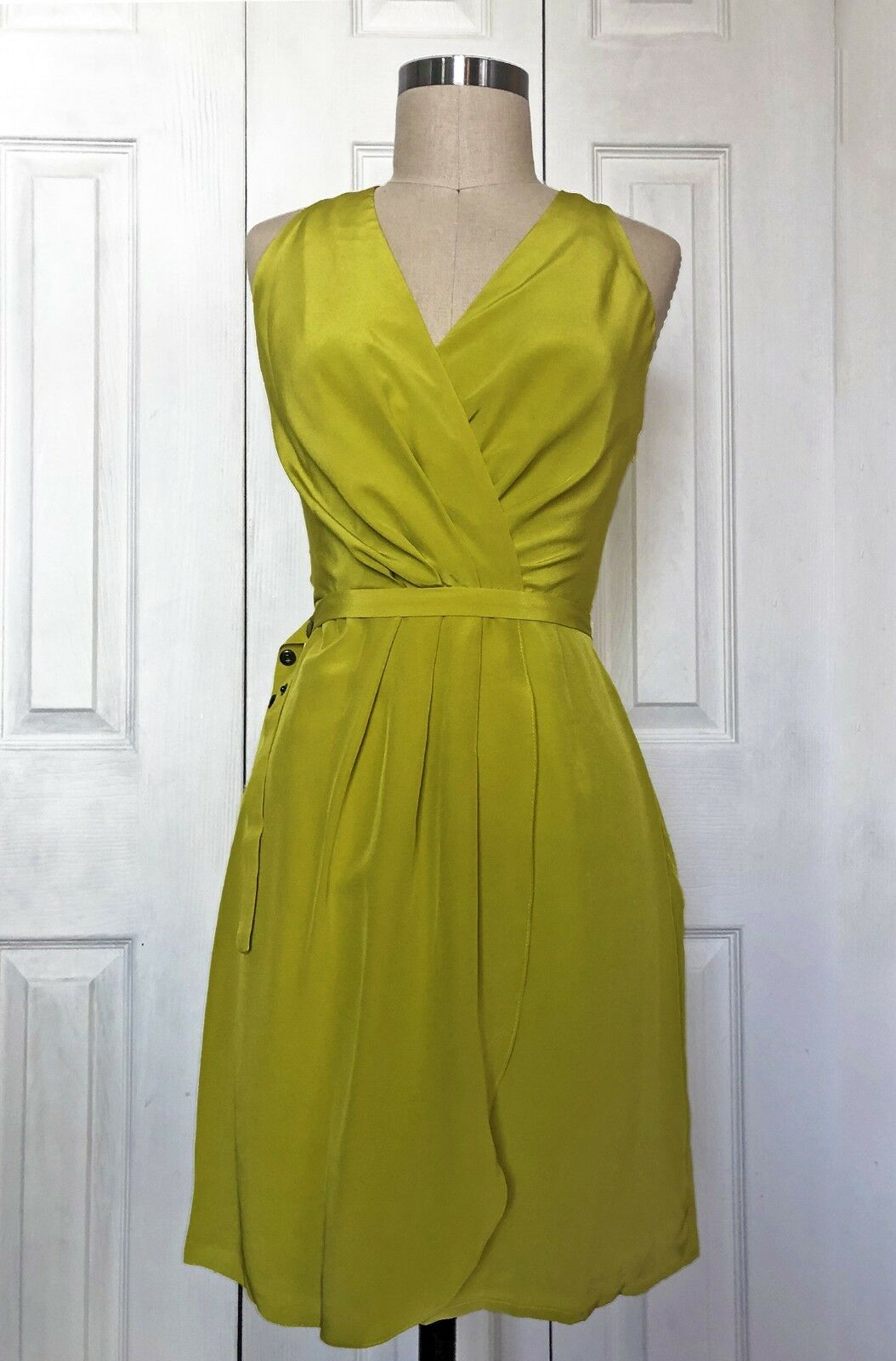 Hunter Dixon Virginia Silk Wrap Dress