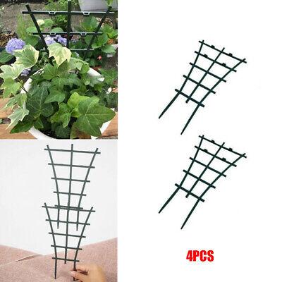 set di 2 piante rampicanti verticali altezza 60 cm VSTAR66 Anello di supporto ad anello per giardinaggio pilastro con 3 anelli regolabili