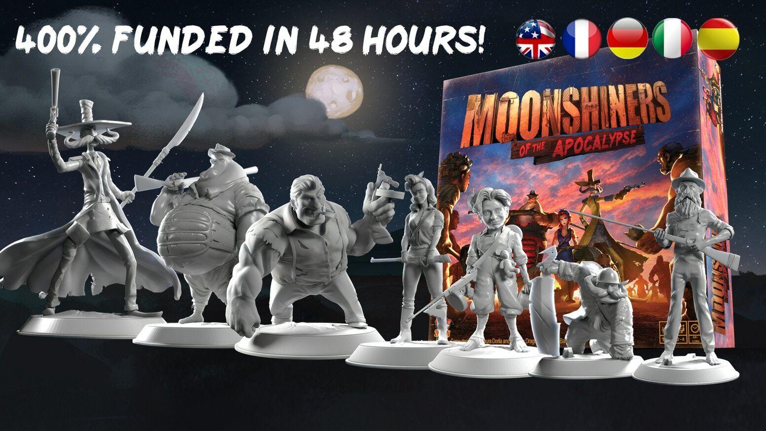 MOONSHINERS de l'apocalypse 2fat2fly Pédale De Démarrage deluxe Pré-vente