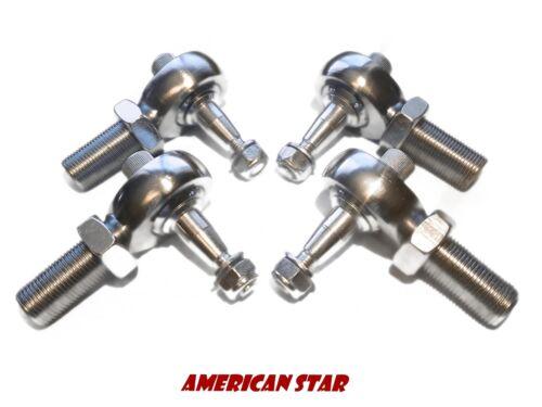 4 Yamaha YFZ 450 American Star 4130 Chromoly Pro X Racing Ball Joint Set