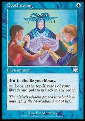 Soothsaying  MTG magic MMQ MRM ENGLISH Divination de l/'aruspice