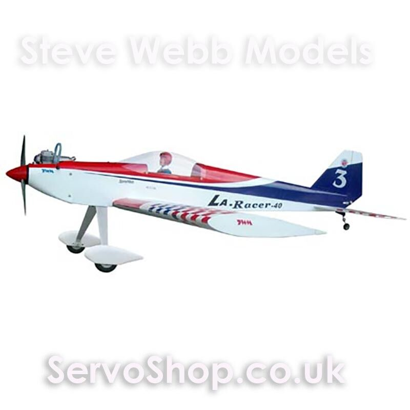 The World Models LA Racer 40 to 46 Engine Sport Aerobatic & Low Wing Trainer