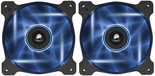 2 x Corsair Air Series AF120 LED Blue Quiet Edition High Airflow 120mm Case Fan