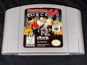Fuerza de lucha 64 (Nintendo 64, 1999) Liberado/Probado/Auténtico-N64