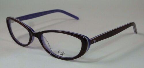 New Authentic OCEAN PACIFIC RXable Eyeglasses Frames Kaloa Beach Brown Horn 53mm