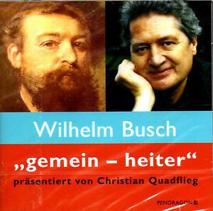 Wilhelm-Busch-034-gemein-heiter-034-2-Audio-CD-s-NEU