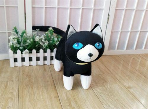 Persona 5 Black Cat Morgana Mona Plush Toy Soft Stuffed Pillow Doll Kids Gift