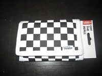 Vans Slipped Trifold Wallet Bill-fold Wallet - Black Handbags and Wallets