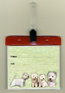 West-Highland-White-Cage-Identity-Badge-for-Dog-Show-Crates-Cages-by-Starprint