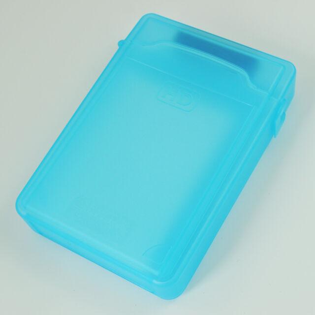3,5 Zoll IDE / SATA HDD Aufbewahrungsbox (blau) F4X5