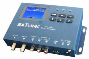Satlink WS-6990 Single One Channel DVB-T Digital Modulator suits HDMI Foxtel IQ4