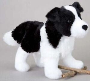 Meadow Douglas 7 Plush Border Collie Stuffed Animal Toy Black White