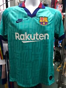 nike fc barcelona messi 3rd jersey 2019 20 retro green stadium size xl only 193145234154 ebay details about nike fc barcelona messi 3rd jersey 2019 20 retro green stadium size xl only