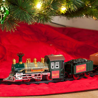 Christmas Tree Train.12 Piece Nostalgic Holiday Traditional Around The Christmas Tree Train Set Ebay