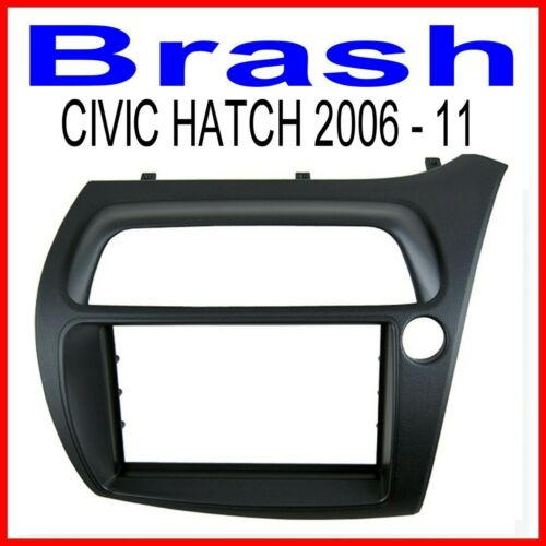 FASCIA FOR HONDA CIVIC 2006-2011 HATCH BACK   FOR AFTERMARKET DOUBLE DIN STEREO