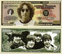 John Lennon - The Beatles -  Million Dollar Novelty Money