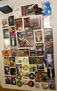 Lot of Windows PC Games, Manuals, Cases, Calendar, Collectibles & More!