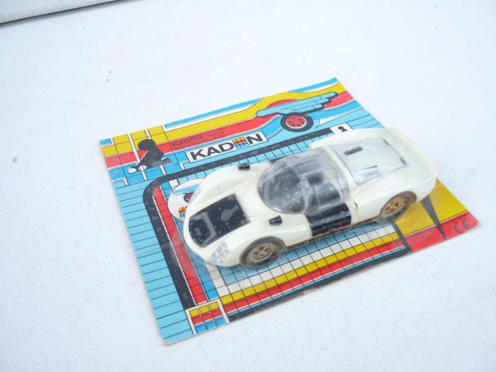 1 43 Kaden Kaden Kaden Vintage Porsche Carrera New on Blister Rare   87155e