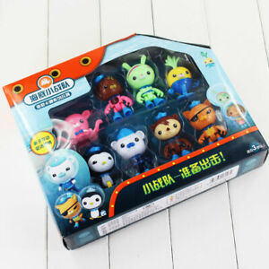 Octonauts Action Figures 8 Toys Captain Barnacles Medic