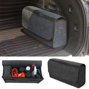Suv Cargo Organizer >> Details About Trunk Cargo Organizer Foldable Caddy Storage Collapse Bag Bin For Car Truck Suv