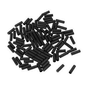 100pcs Road Mountain Bike Bicycle inner brake shift cable housing end caps tips