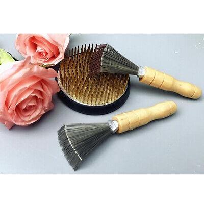 Japanese Flower Frog Ikebana Kenzan Needle Holder Straightener Cleaning Tool