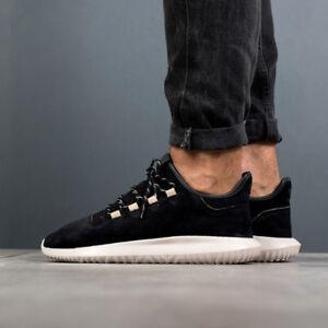 Details about adidas Originals Mens Tubular Shadow Trainers BLACKWHITE