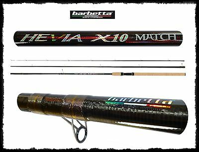 Other Fishing Rods Impartial Canna Pesca Inglese Hevia X 10 Match 4.50m Az 20g Carbonio 3 Sezioni Mare Lago To Win A High Admiration And Is Widely Trusted At Home And Abroad.