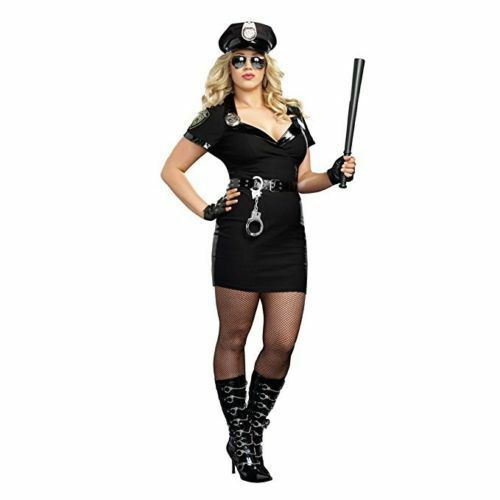Swat Officer Womens Plus Size Costume