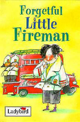 """AS NEW"" Forgetful Little Fireman (Little People Stories), MacDonald, Alan, Book"