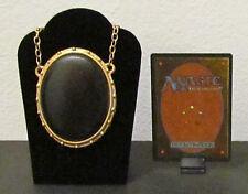 MTG Magic the Gathering - MOX JET Pendant / Necklace - Custom Very Nice