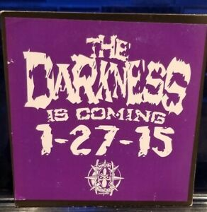 Twiztid-The-Darkness-Sampler-CD-majik-ninja-Entertainment-insane-clown-posse