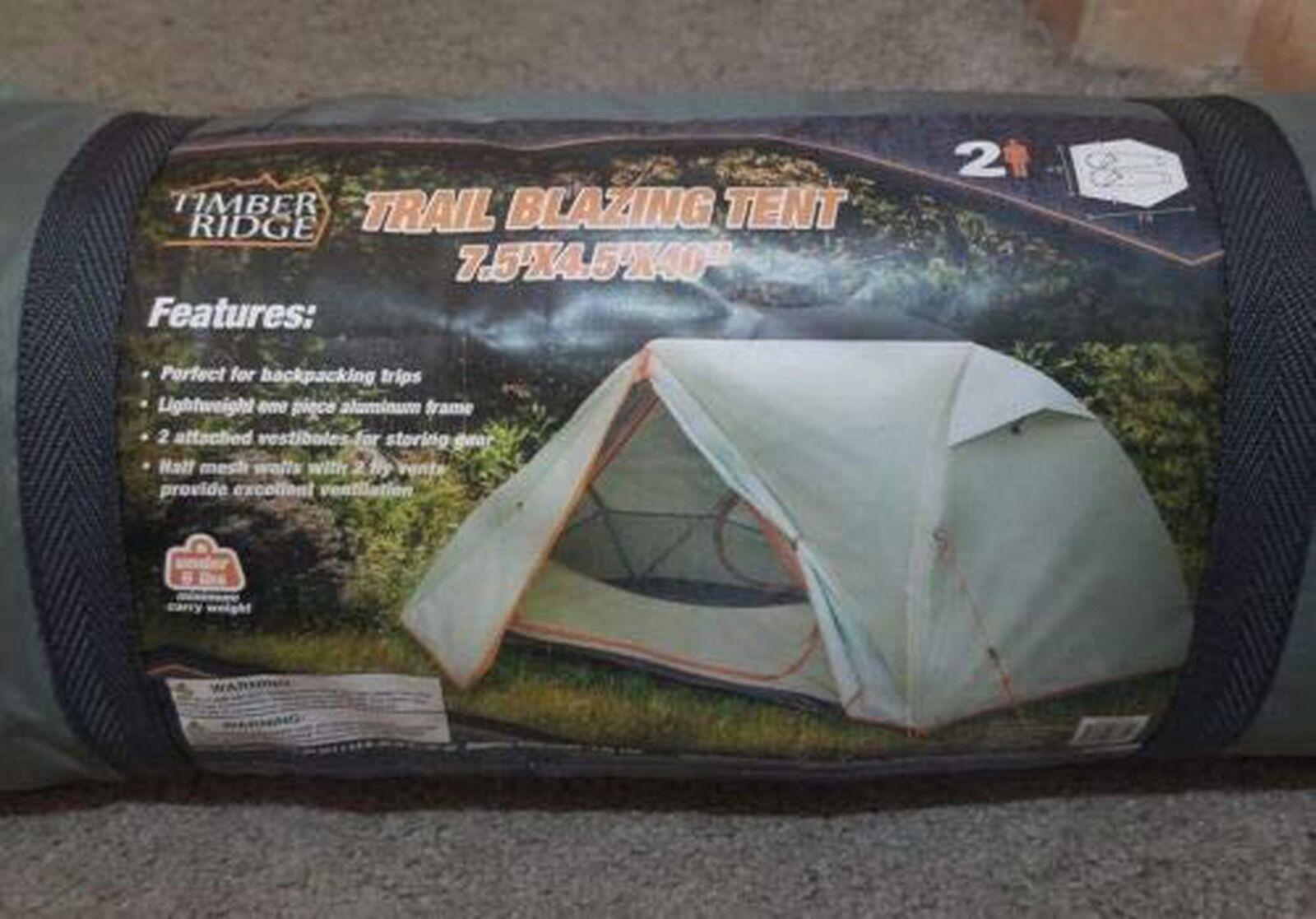 Timber Ridge Trail Blazing Tent 2 People