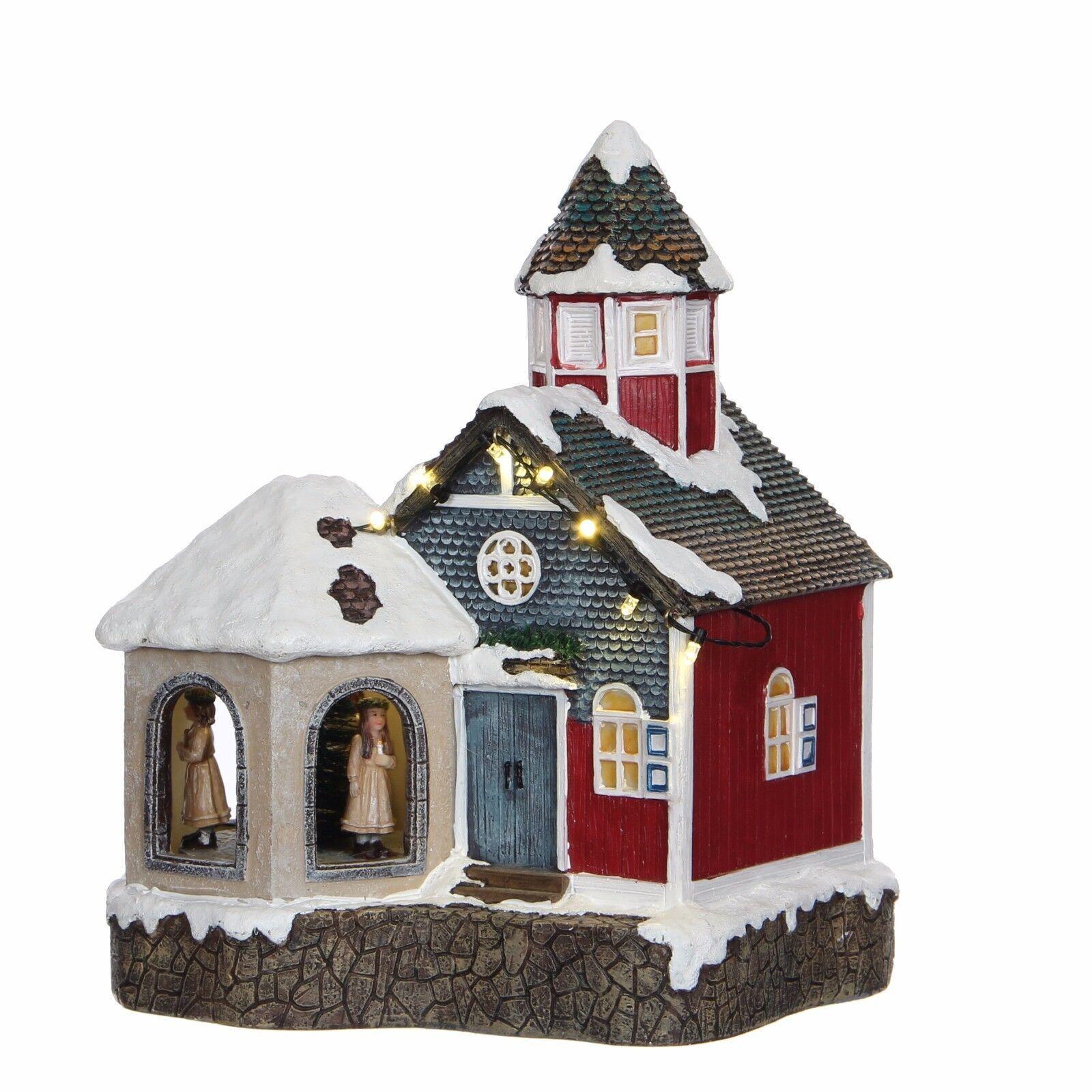 Luville 1031327 - Sint Lucia Church, animiert, beleuchtet,
