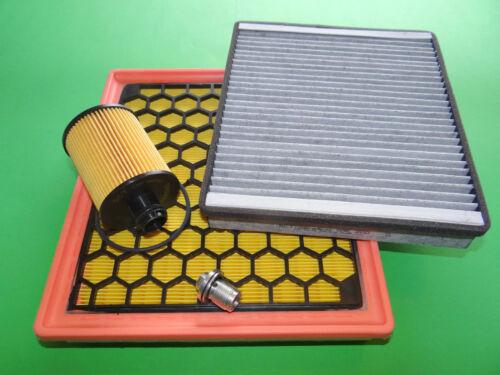Ölfilter Luftfilter Aktivkohle Pollenfilter Opel Insignia A 2.0 CDTI