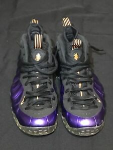 huge discount c4263 6fc6d Details about NIKE AIR FOAMPOSITE ONE SIZE10.5 PHOENIX SUNS ELETRO PURPLE  314996 501