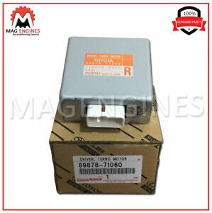 New Genuine OEM Part turbo motor 8987871060 89878-71060 Toyota Driver