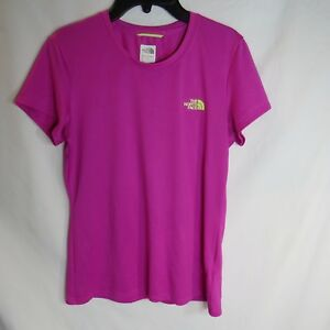 The-North-Face-T-Shirt-Short-Sleeve-Pink-Womens-Size-S