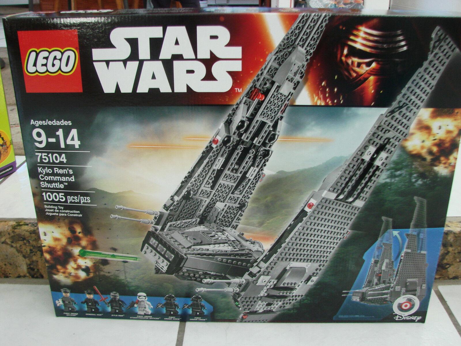Nuevo Lego Star Wars 75104 Kylo Ren's comando nave lanzadera