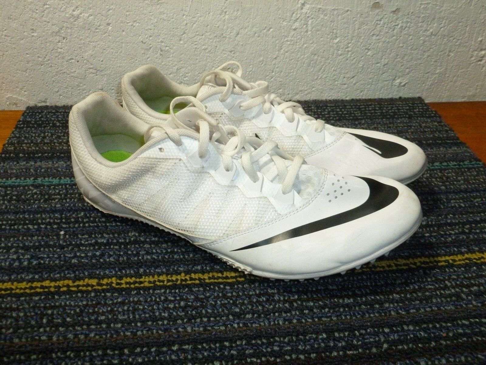 Nike Track Cleats Field White Men's Comfortable  Brand discount