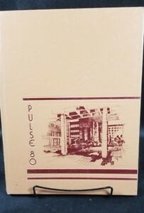 Details about The Pulse 1980 LSU School Of Medicine Shreveport Louisiana  Year Book Yearbook