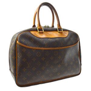LOUIS-VUITTON-DEAUVILLE-BUSINESS-HAND-BAG-PURSE-MONOGRAM-NO1908-M47270-A54342