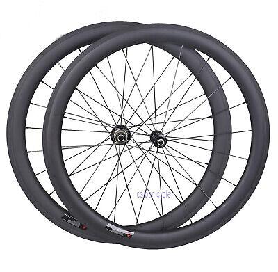 1380g Carbon Wheelset 38mm Clincher Pillar Rim 700C UD Matt Road Bike Powerway