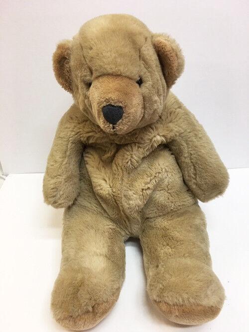 Vintage 25  Large Tan Gund Snuffles Snuffles Stuffed Plush Bear