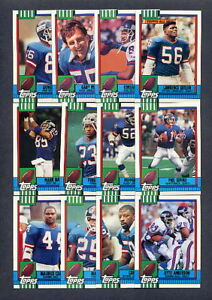 1990-Topps-Football-New-York-Giants-TEAM-SET-Traded