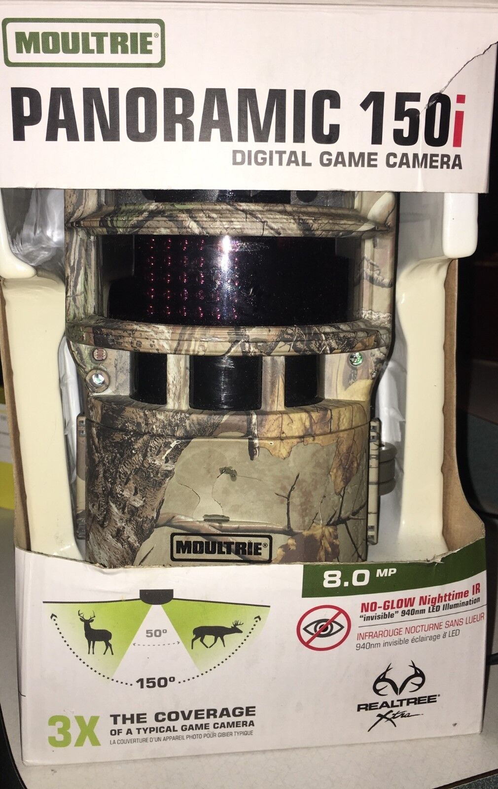 Moultrie 150i Panoramic  8 MP Trail Hunting Game Camera  large discount