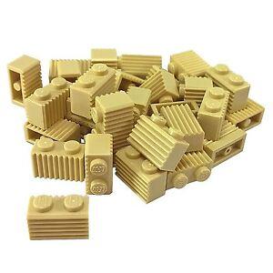 BRICKS Tan 30 NEW LEGO Brick Grill Modified 1 x 2 Grille